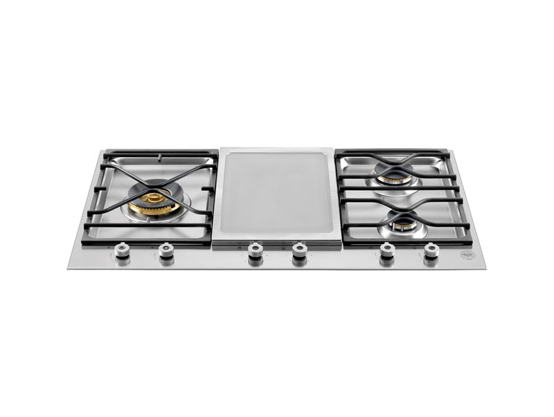 Professional Series 36 Segmented cooktop 3-burner and griddle