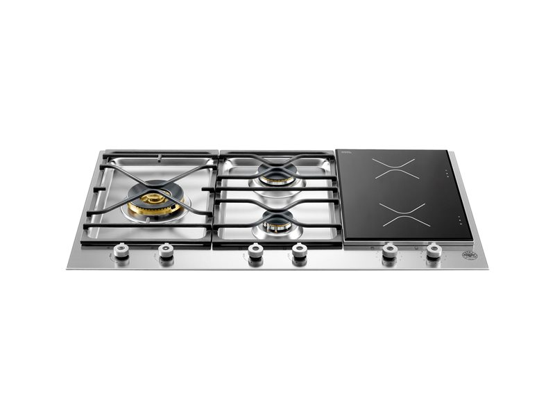 Professional Series 36 Segmented Cooktop 3-burner and 2 induction zones