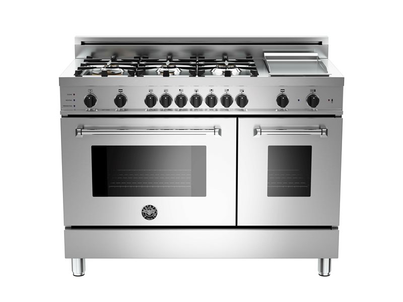 Master Series 48 6-Burner+Griddle, Electric Self-Clean Double oven