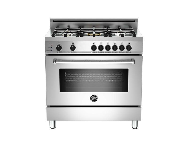 Master Series 36 5-Burner, Electric Self-Clean Oven