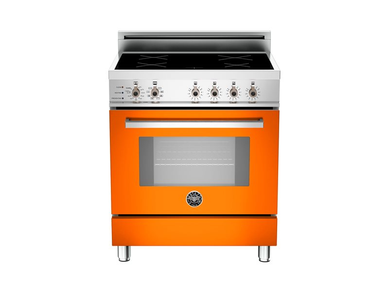 Professional Series 30 4-Induction Zones, Electric Self-Clean oven