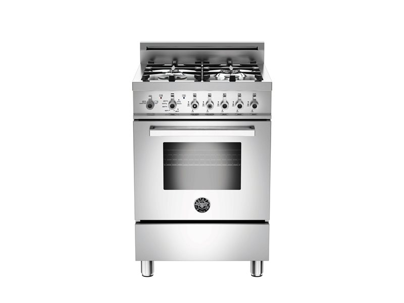 "Bertazzoni NEW!  24"" Professional Series range - Gas oven - 4 aluminum burners"