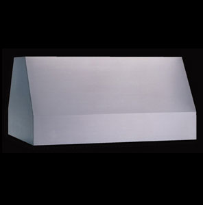 Standard commercially styled range hoods for residential use comes in two depths.