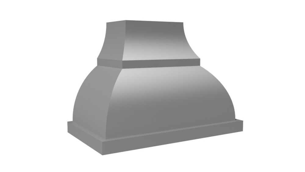 "Vent-A-Hood 66"" 1200 CFM Designer Series Range Hood Stainless Steel"