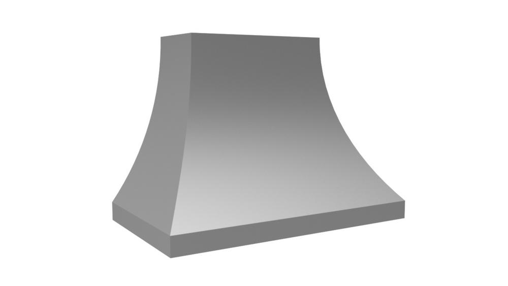 "Vent-A-Hood 48"" 600 CFM Designer Series Range Hood Stainless Steel"