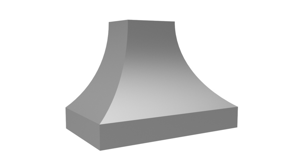 "Vent-A-Hood 54"" 1200 CFM Designer Series Range Hood Overlay"