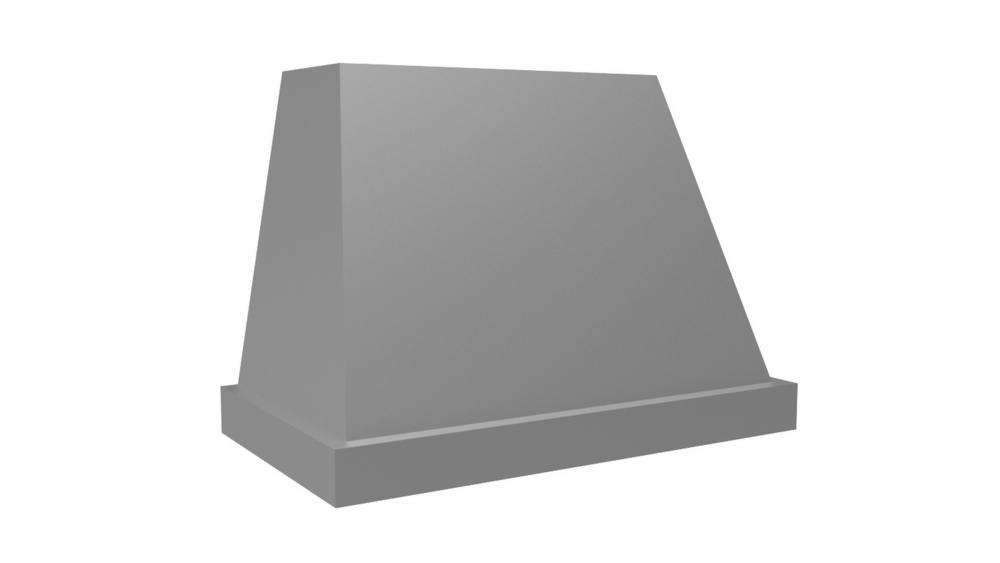 "Vent-A-Hood 48"" 600 CFM Designer Series Range Hood Black"