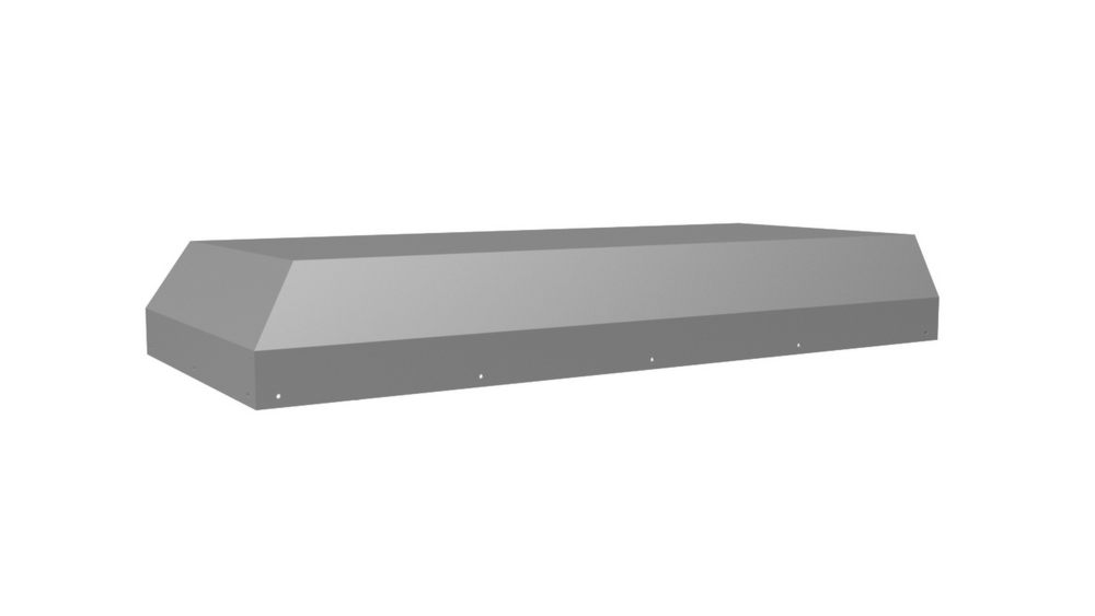 """Vent-A-Hood 34 3/8"""" K-Series Wall Mount Liner Insert Gunsmoke"""