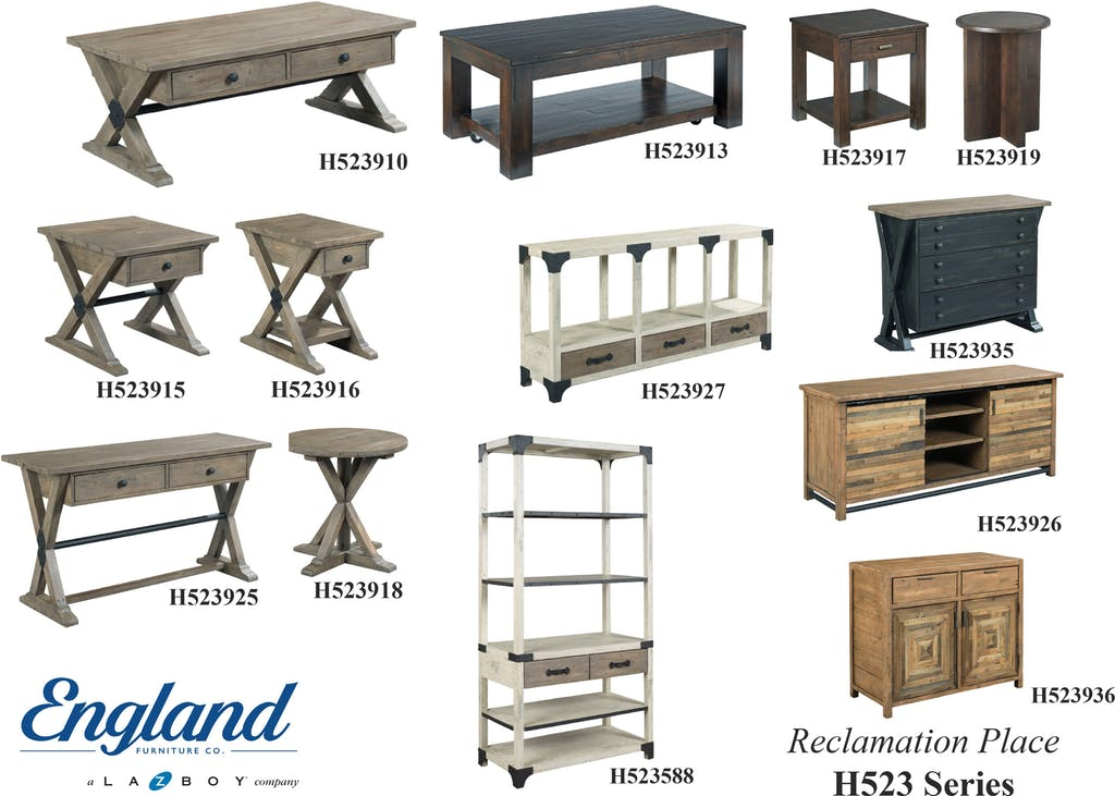 England Reclamation Place Tables