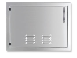 "Capital Cooking 24"" vertical access door w/ louvers"