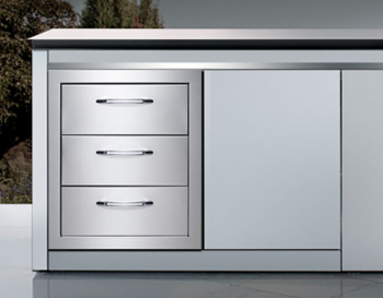 Capital Cooking Triple drawer system