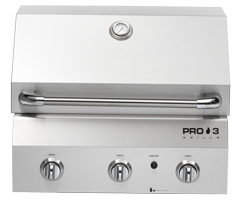 PRO 3 Series Built-In Grill