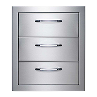 Model: CCE3DRW-SS | 3 Drawer System