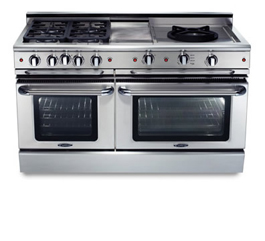 Bake, broil, convection bake, convection broil, open-door broil