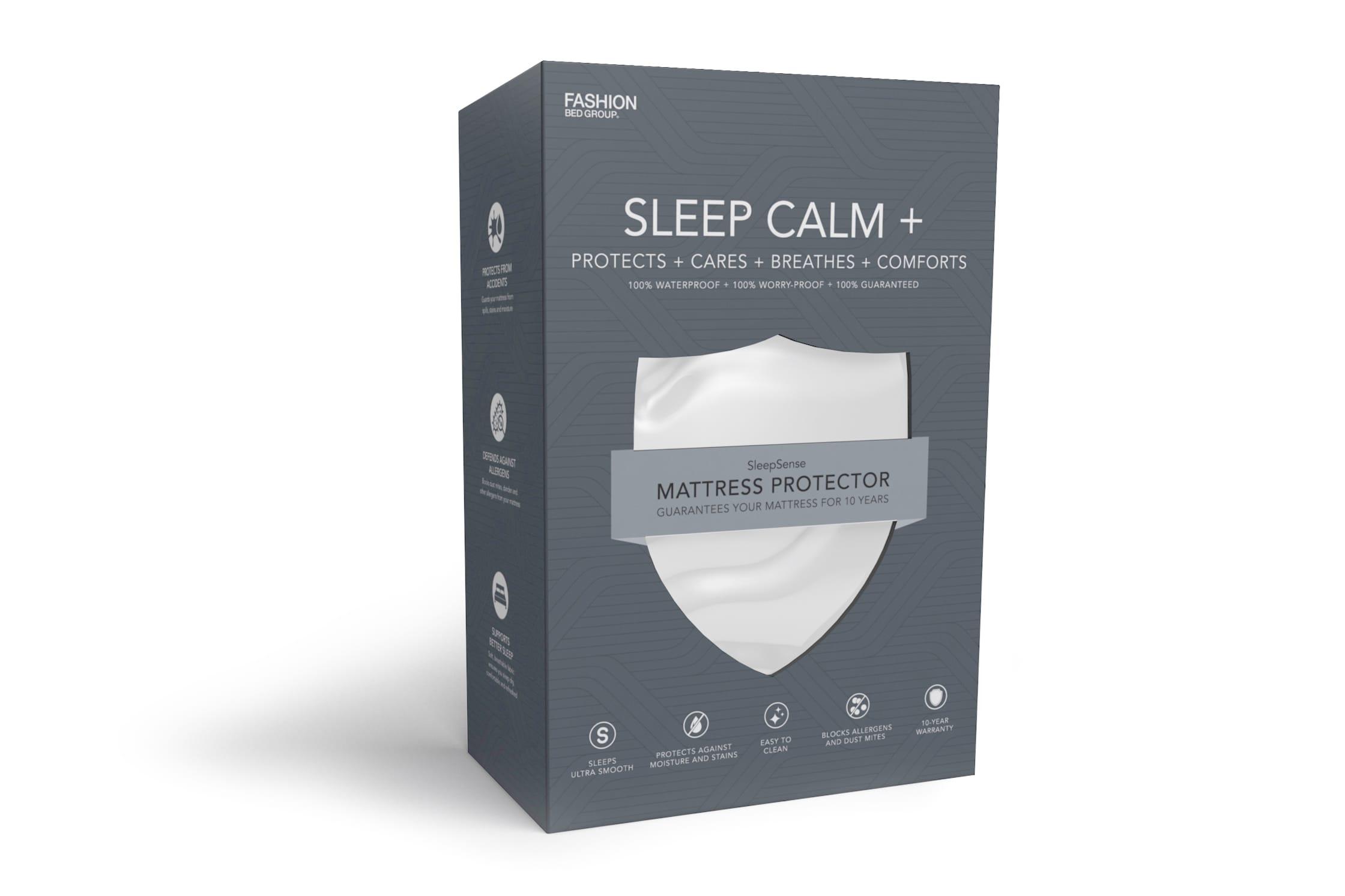 Fashion Bed Sleep Calm + Mattress Protector