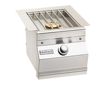 Fire Magic Grills Aurora Single Side Burner