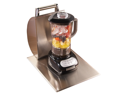 Blender w/Stainless Steel Hood