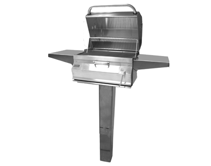 Fire Magic Grills Charcoal Patio Post Mount Grill