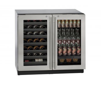 36 inch Beverage Center w/lock