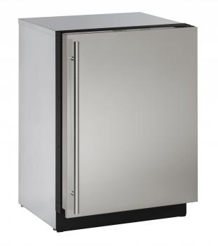 24 inch Solid Door Refrigerator Left-Hand Hinge
