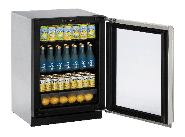 "3024RGL 24"" Glass Door Refrigerator"