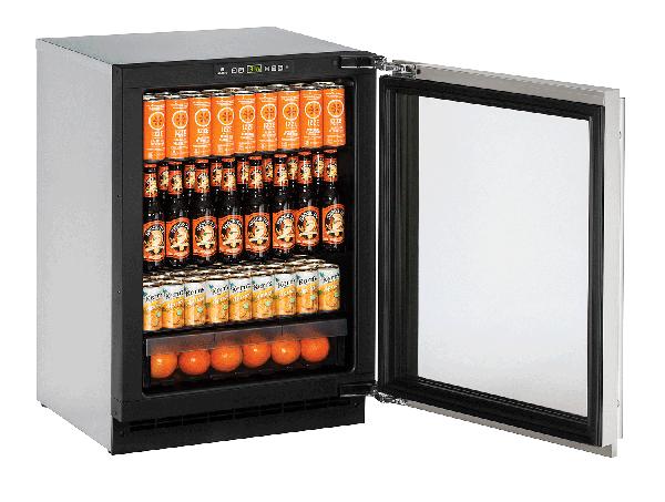 "2224RGL 24"" Glass Door Refrigerator"