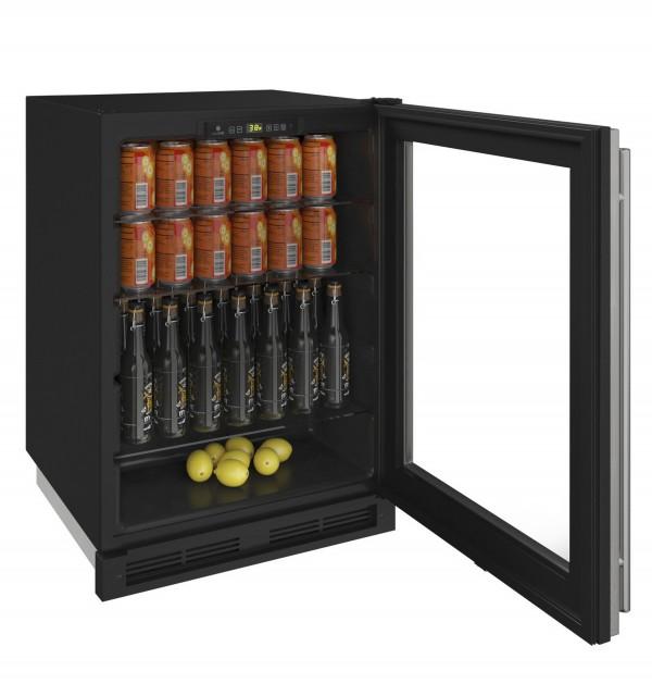 "1224RGL 24"" Glass Door Refrigerator"