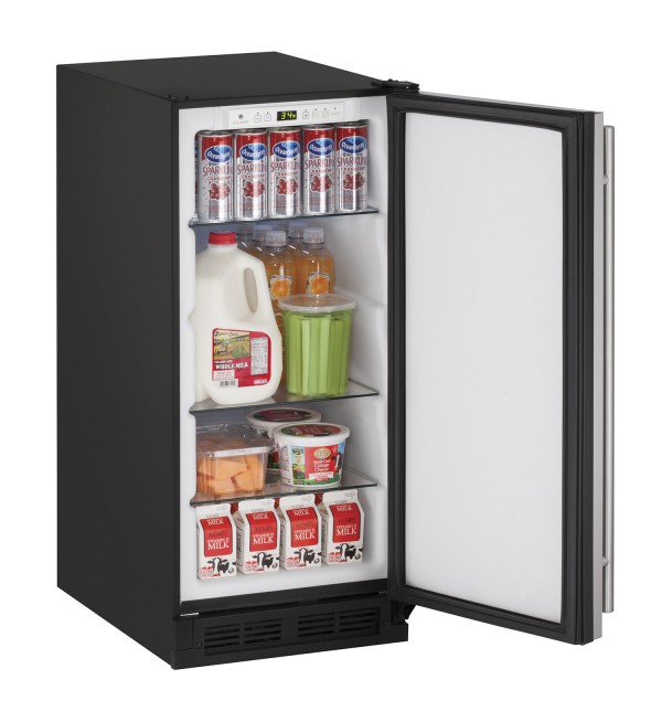 "1215R 15"" Solid Door Refrigerator"