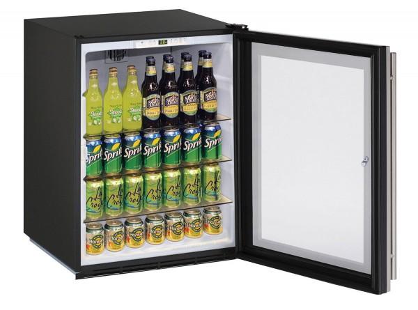 """ADA24RGL 24"""" ADA Glass Door Refrigerator"""