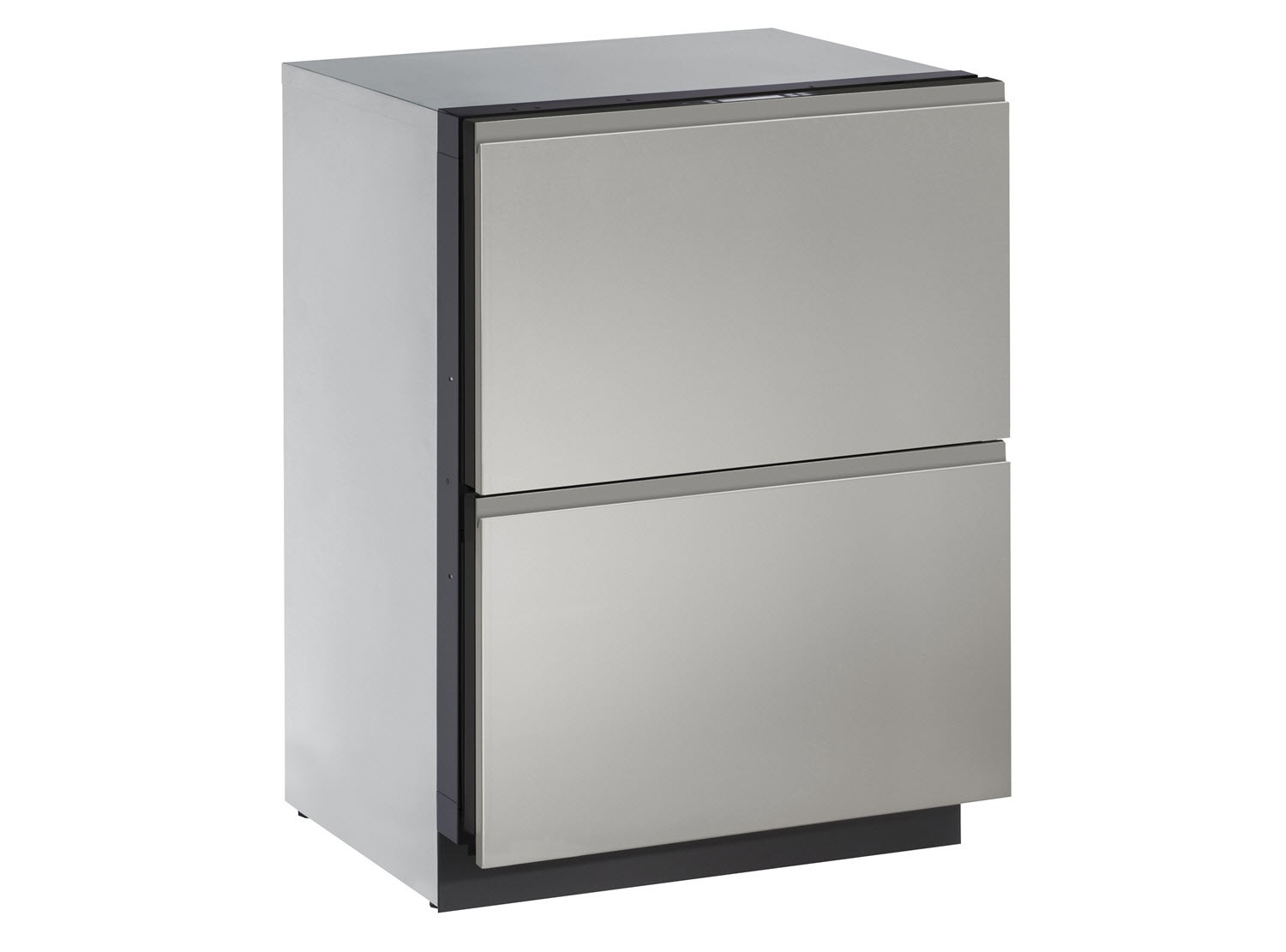 "U-Line Euro Style Handleless Panel, 24"" Solid Drawers"
