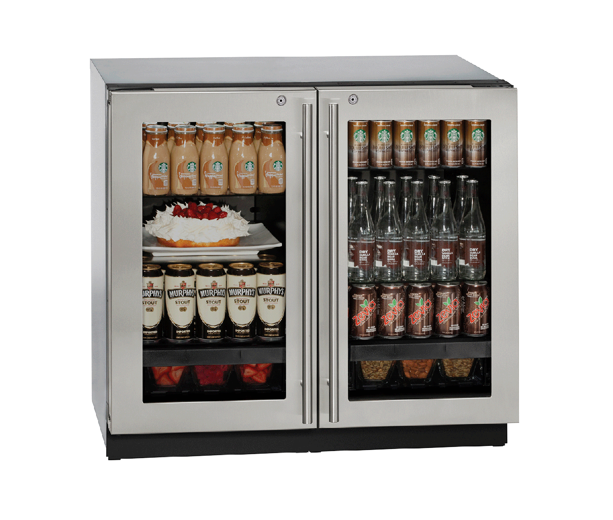 "3036RRGL 36"" Glass Door Refrigerator"