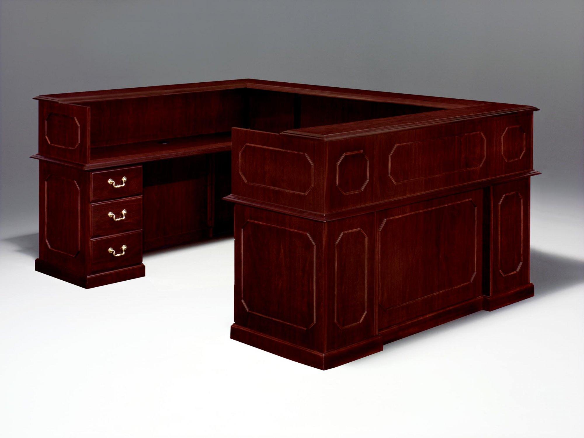 Flexsteel Governors  Left Reception U Desk