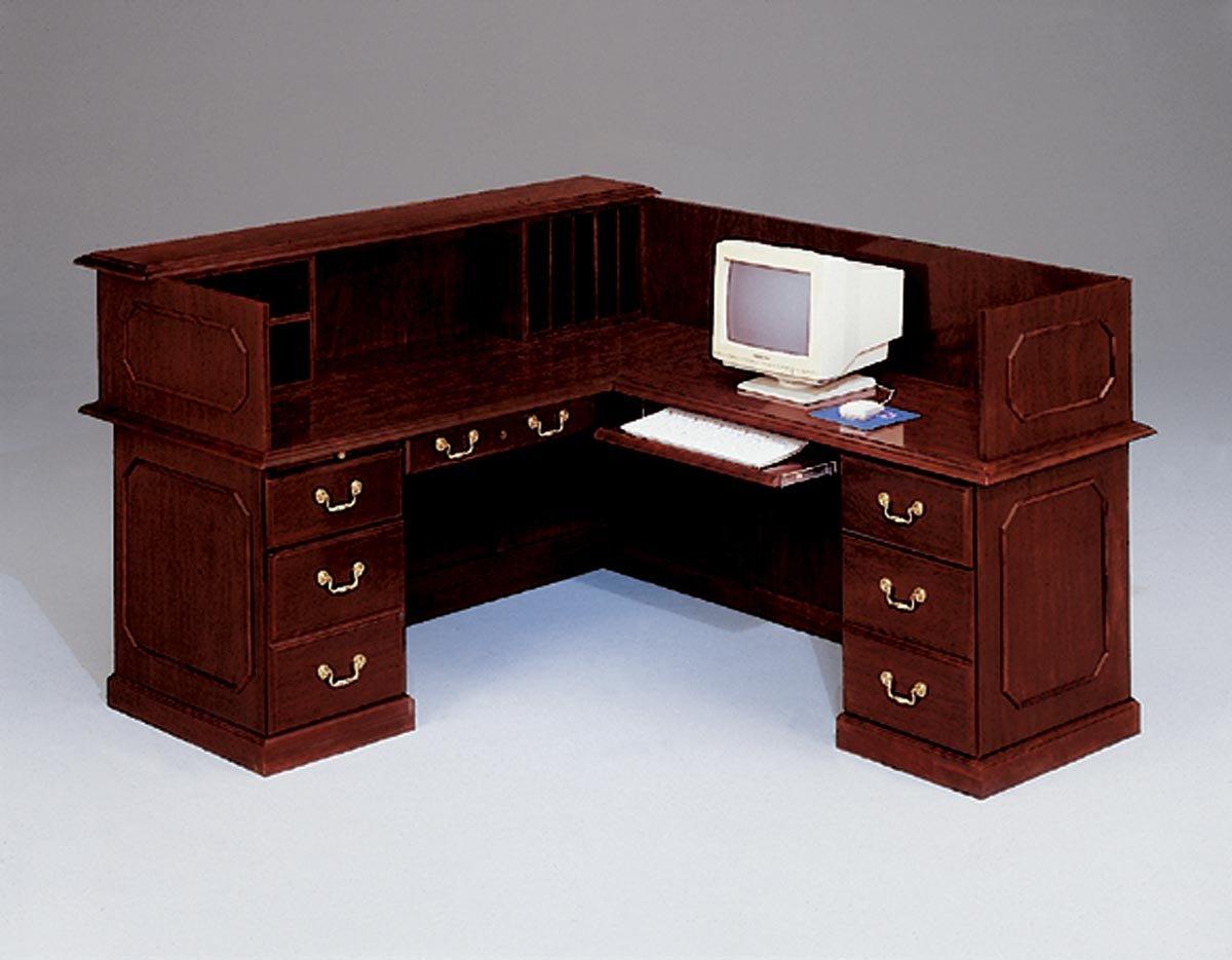 Flexsteel Governors  Right Reception L Desk