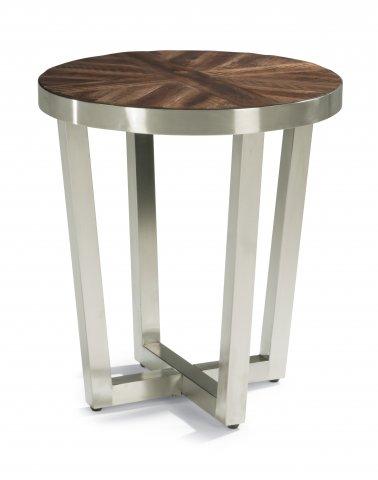 Flexsteel Axis  Chairside Table
