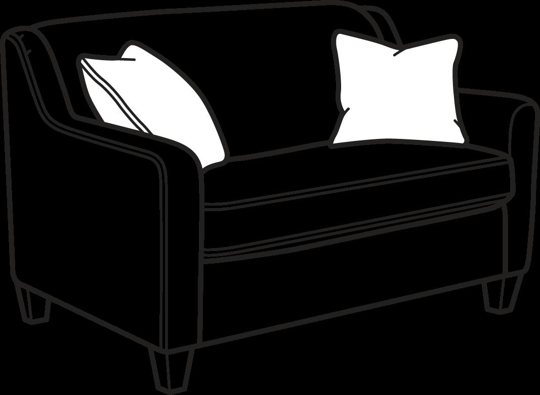 Flexsteel Holly  Fabric Twin Sleeper