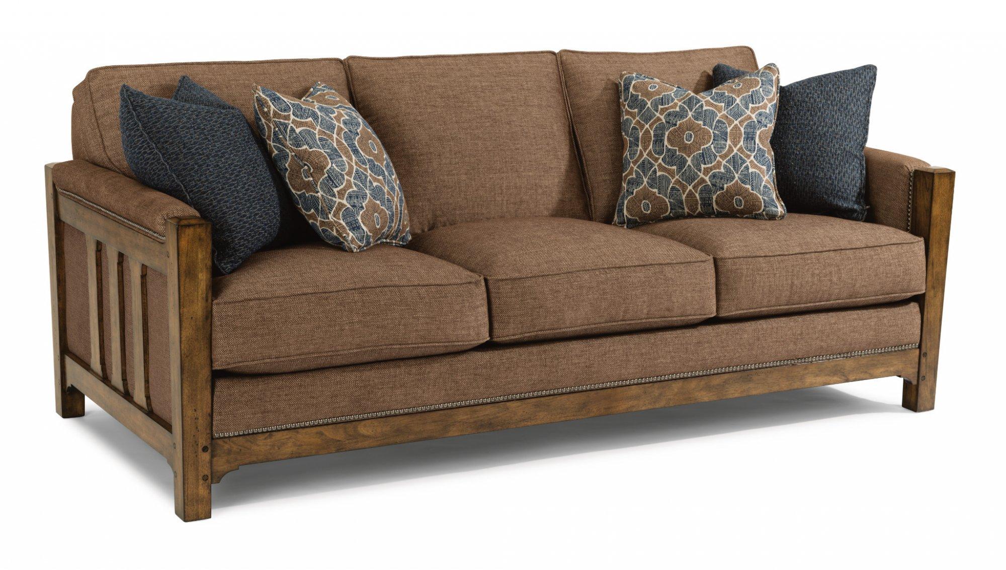 Flexsteel Sonora  Fabric Sofa