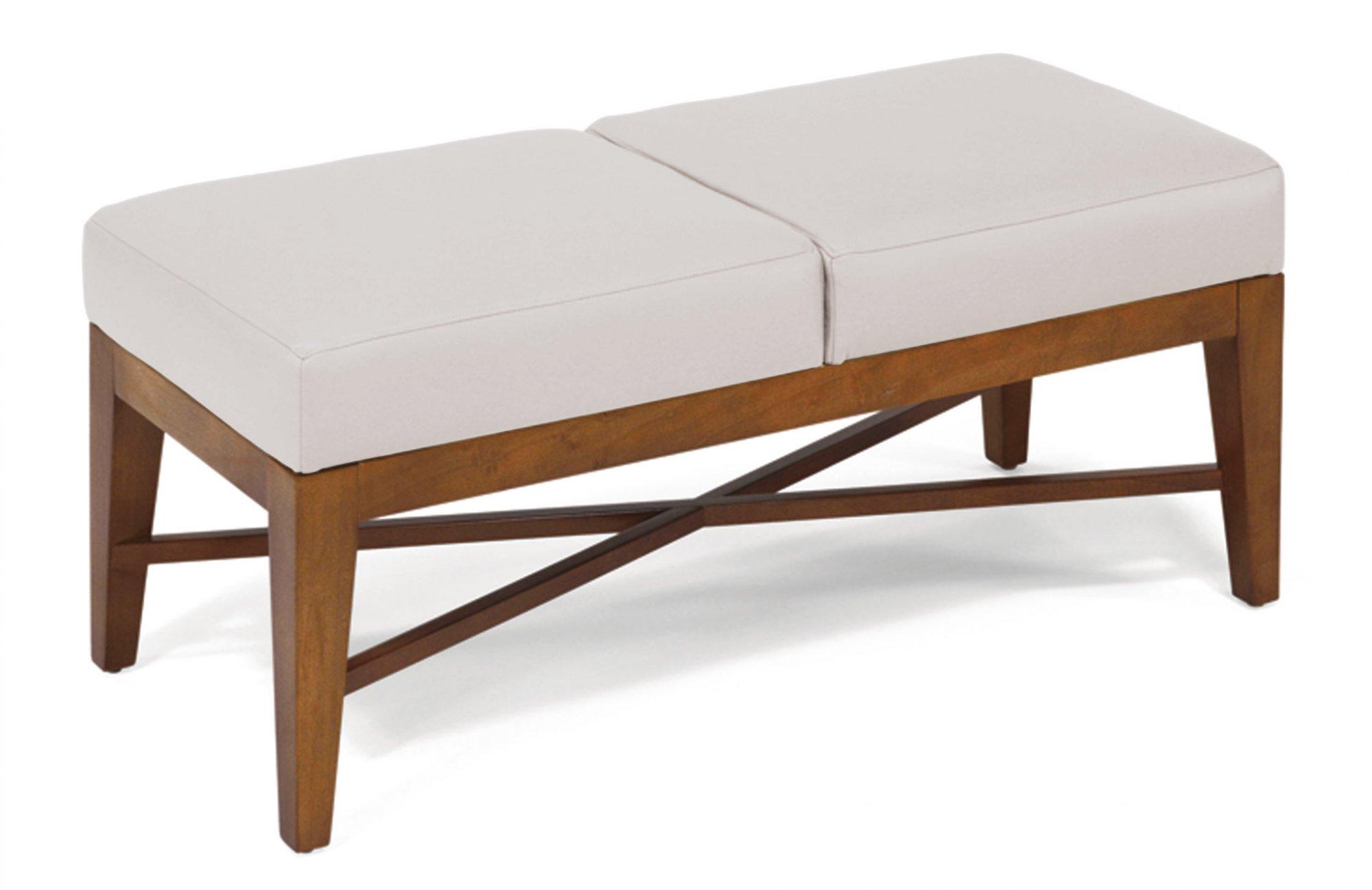 Flexsteel Zebee  Leather Bench