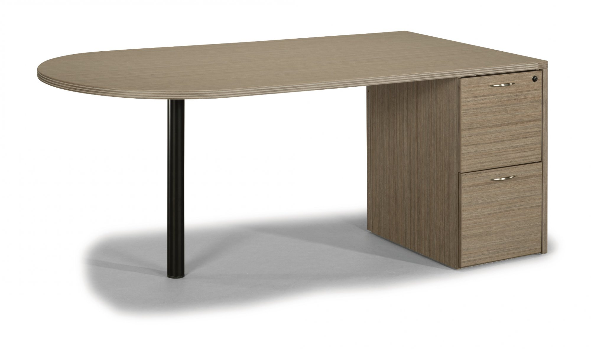 Flexsteel Fairplex  Two-Drawer Sales Desk