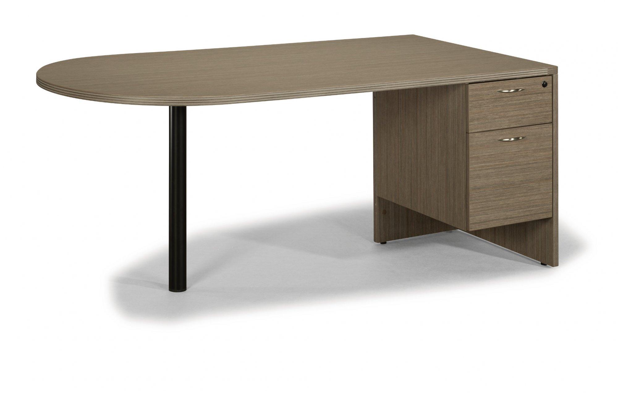 Flexsteel Fairplex  Sales Desk with 3/4 Ped