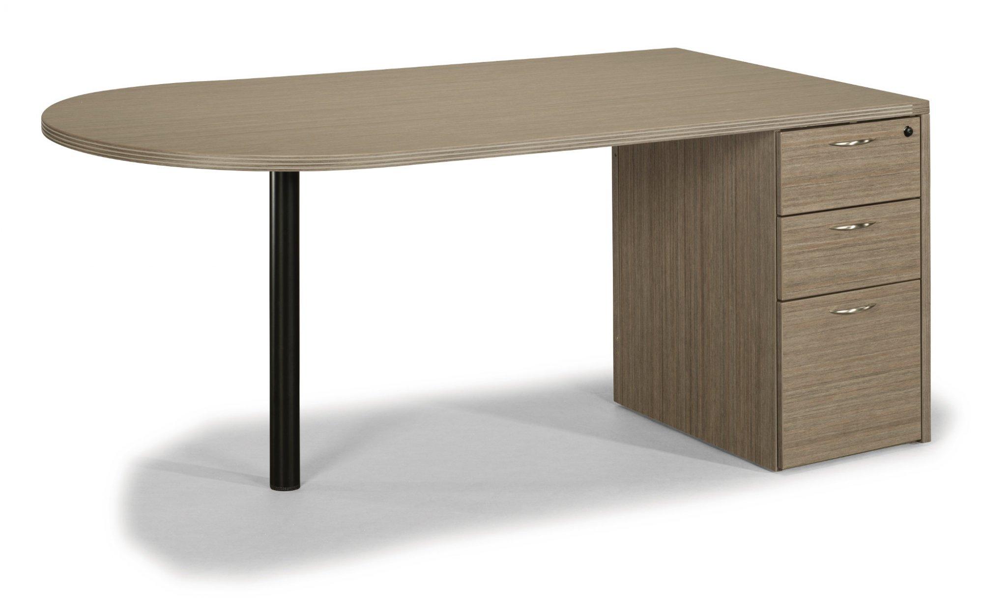 Flexsteel Fairplex  Three-Drawer Sales Desk