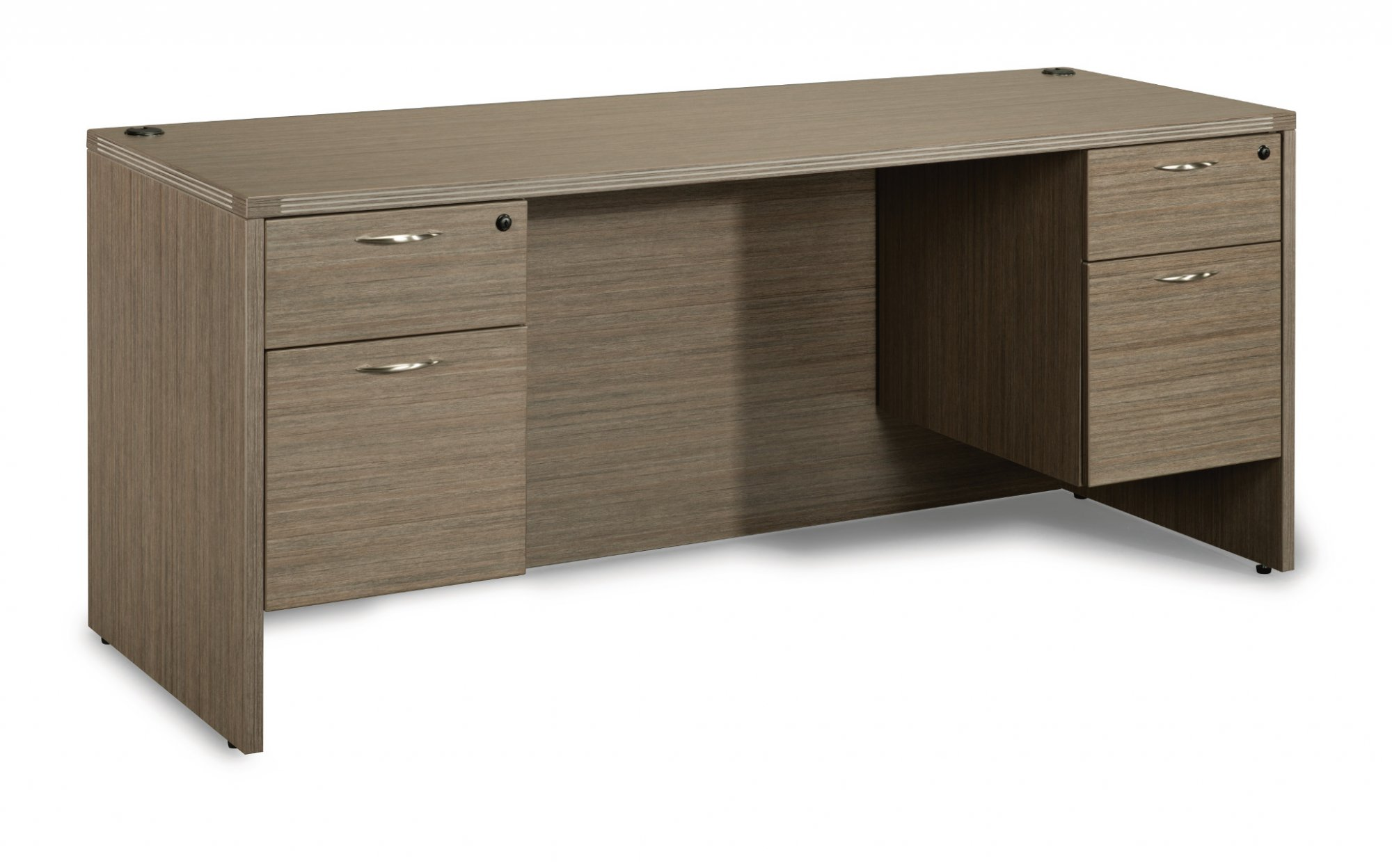 Flexsteel Fairplex  Kneehole Credenza with 3/4 Peds