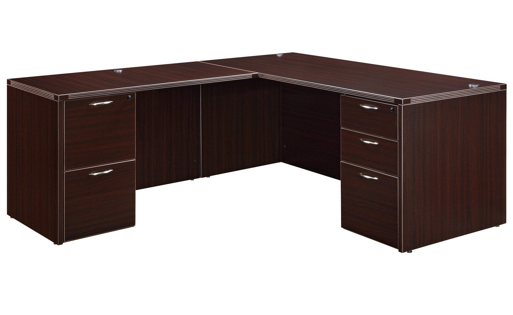 Flexsteel Fairplex  Right/Left Junior Executive L Desk