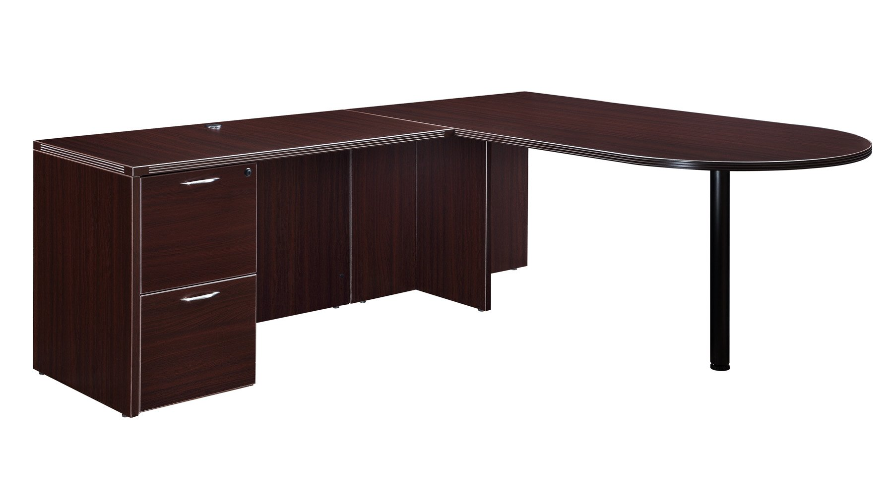 Flexsteel Fairplex  Right/Left Executive Bullet L Desk