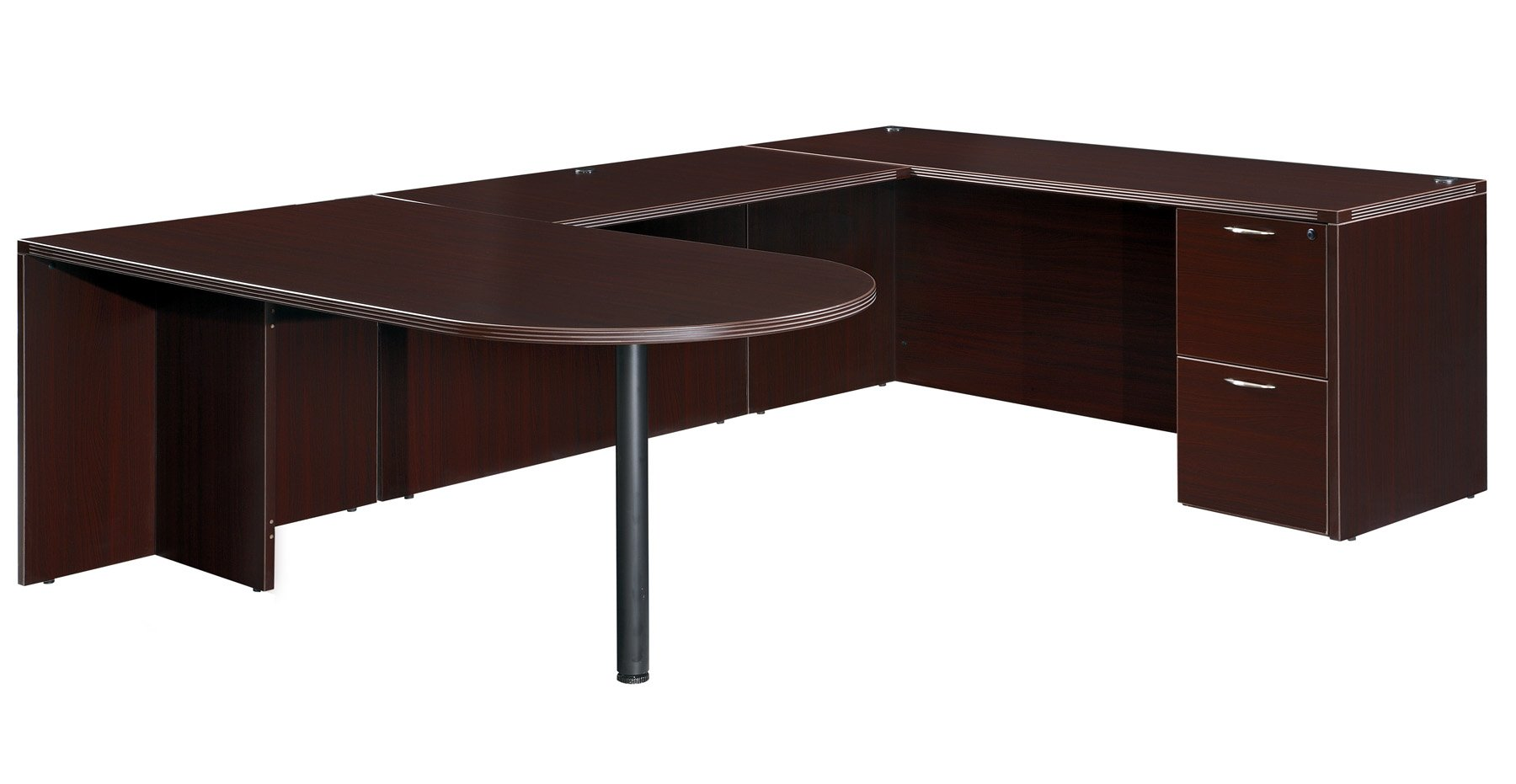Flexsteel Fairplex  Right/Left Executive Bullet U Desk