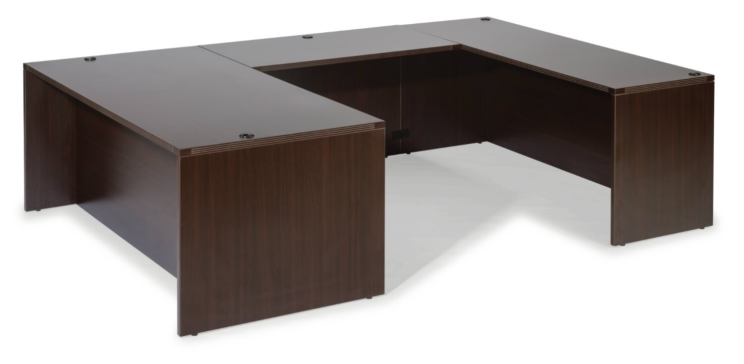 Flexsteel Fairplex  Right/Left Executive Lateral File U Desk