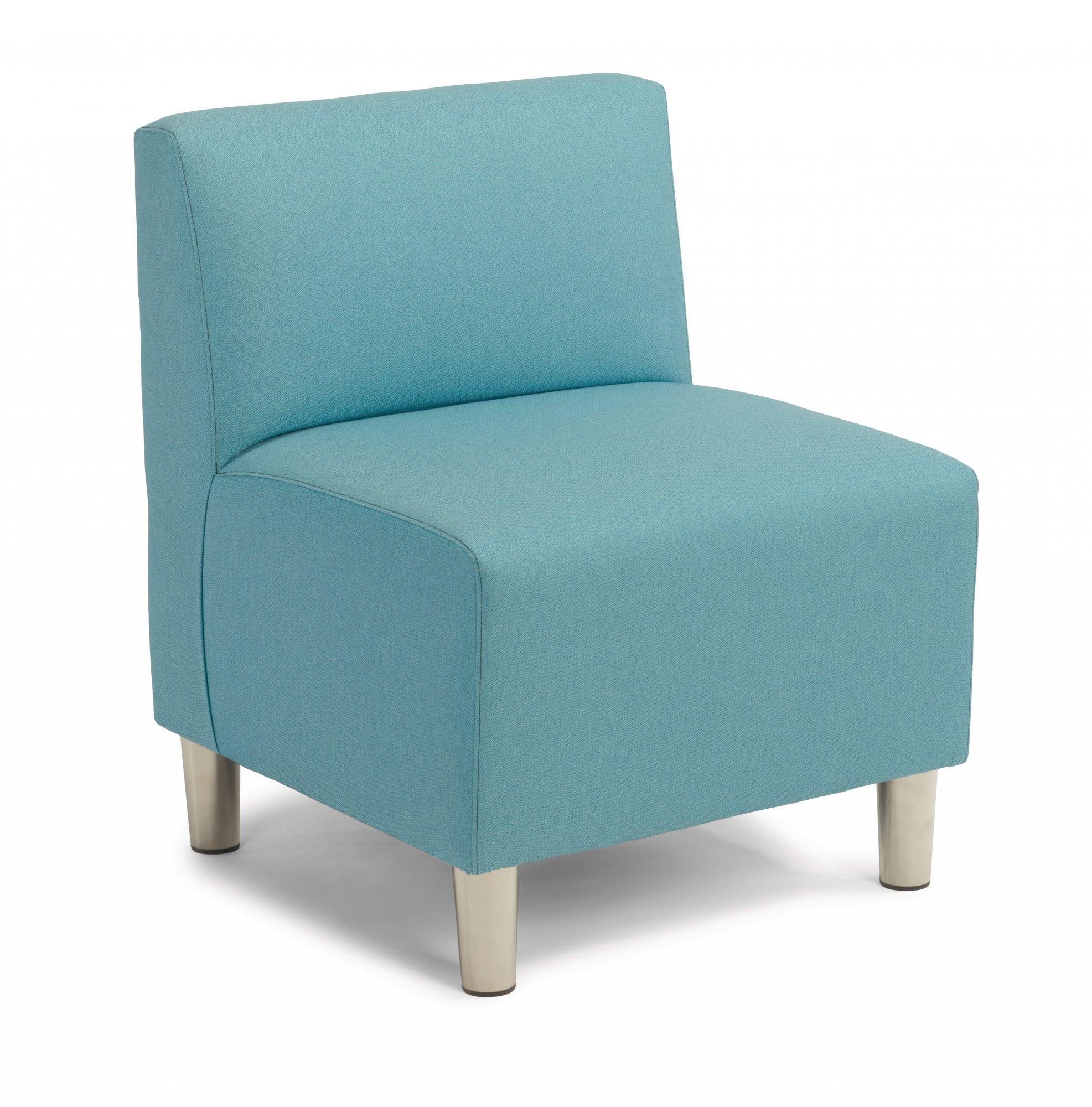 Zoll  Single Armless Chair