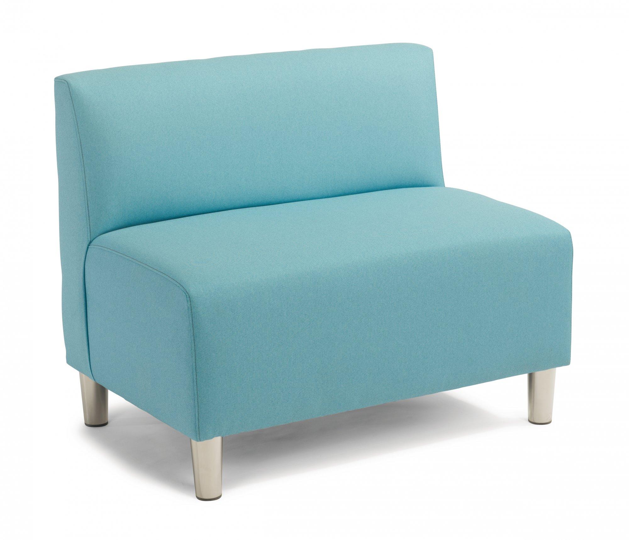 Zoll  Double Armless Chair