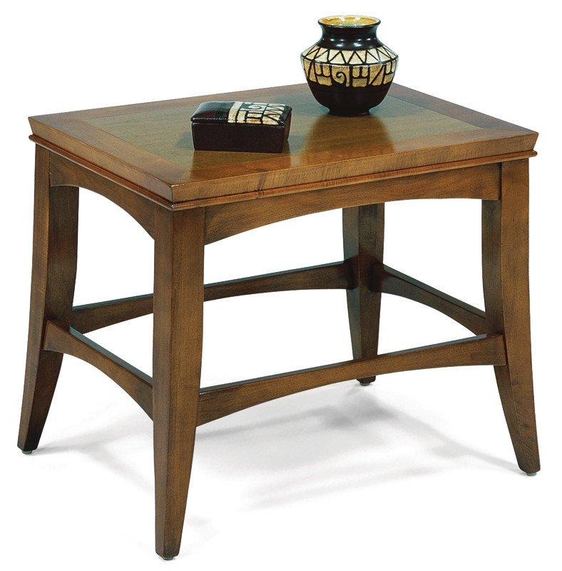 Pratt  Rectangular End Table