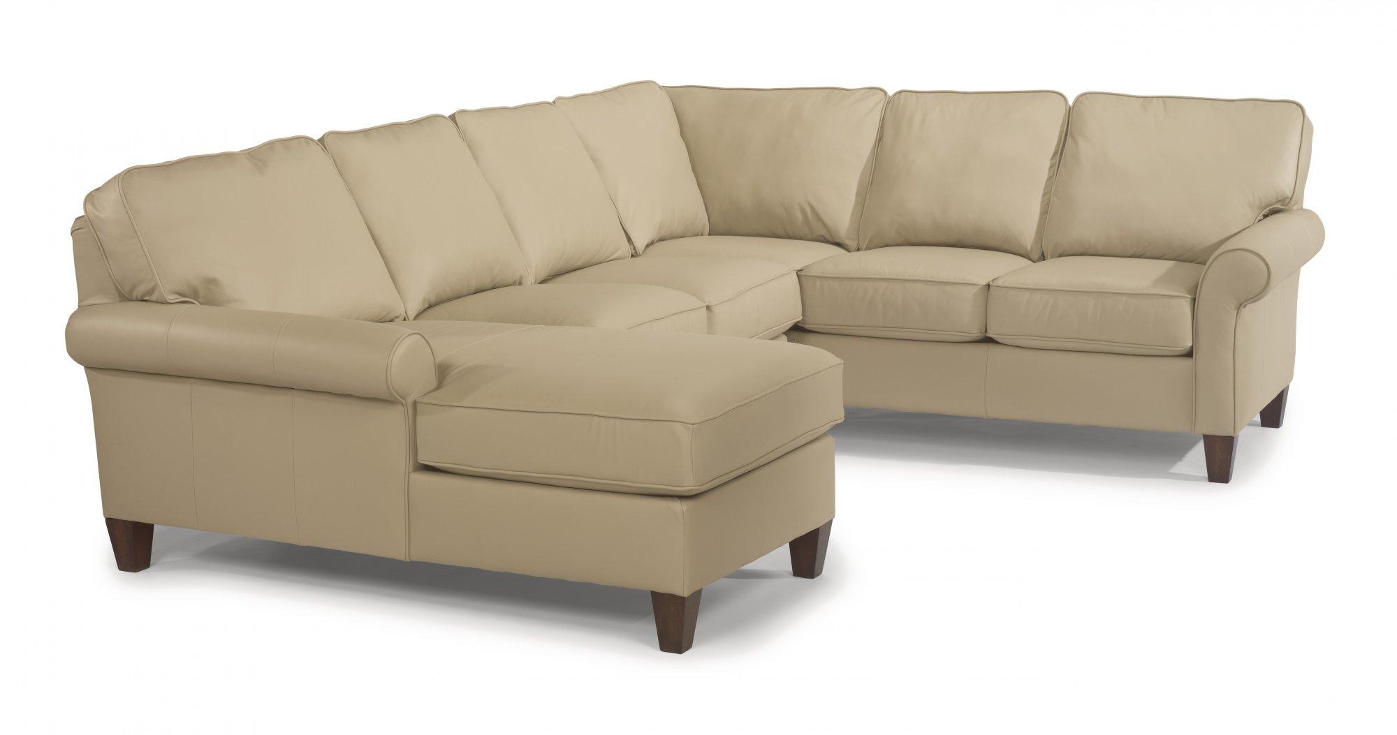 Miraculous Flexsteel 3979 Sect Westside Leather Sectional Craig Evergreenethics Interior Chair Design Evergreenethicsorg