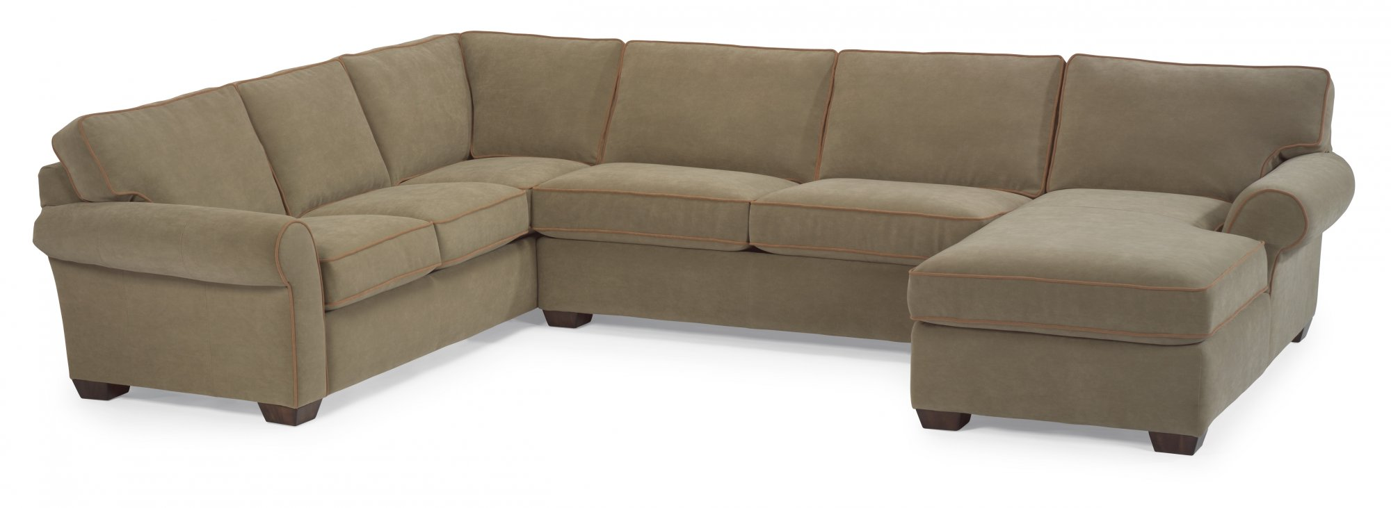Flexsteel Vail  Leather Sectional